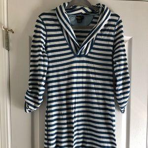 Ralph Lauren Rugby nautical striped dress M